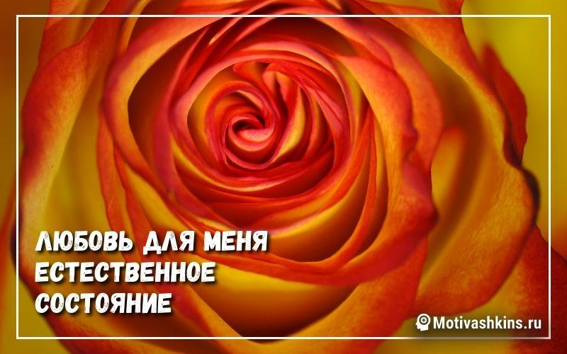 Любовь для меня естественное состояние - Аффирмации на привлечение любви